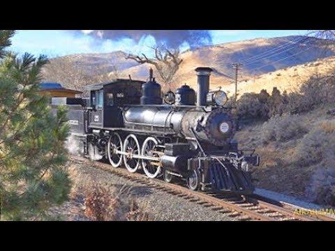 Santa Steam Train at Carson City with Sony RX10 IV