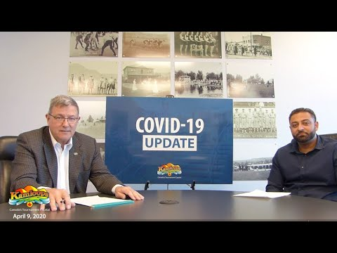 City of Kamloops COVID-19 Update - April 9, 2020