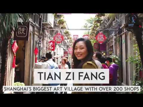 Shanghai's Biggest Art Village with over 200 shops!