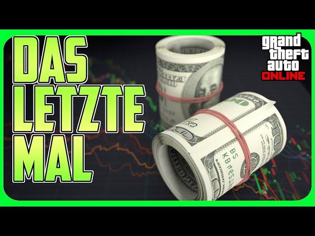 Road to Millionär: Das letztze mal!? - GTA 5 Online Deutsch