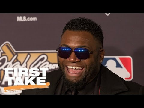 David Ortiz On The Current State Of MLB | First Take | May 17, 2017