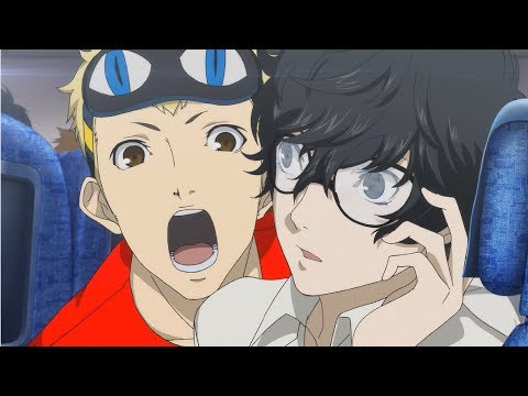 Persona 5 - Hawaii Trip + All Dates (English)