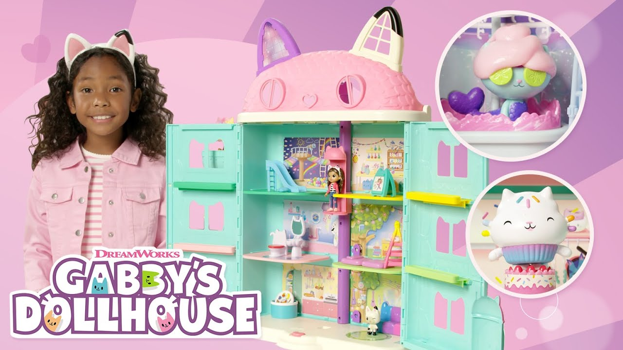 Download Gabby's Dollhouse - Gabby's Purrfect Dollhouse and Deluxe Room Sets - How To