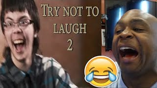 Try not to laugh CHALLENGE 2 - by AdikTheOne REACTION