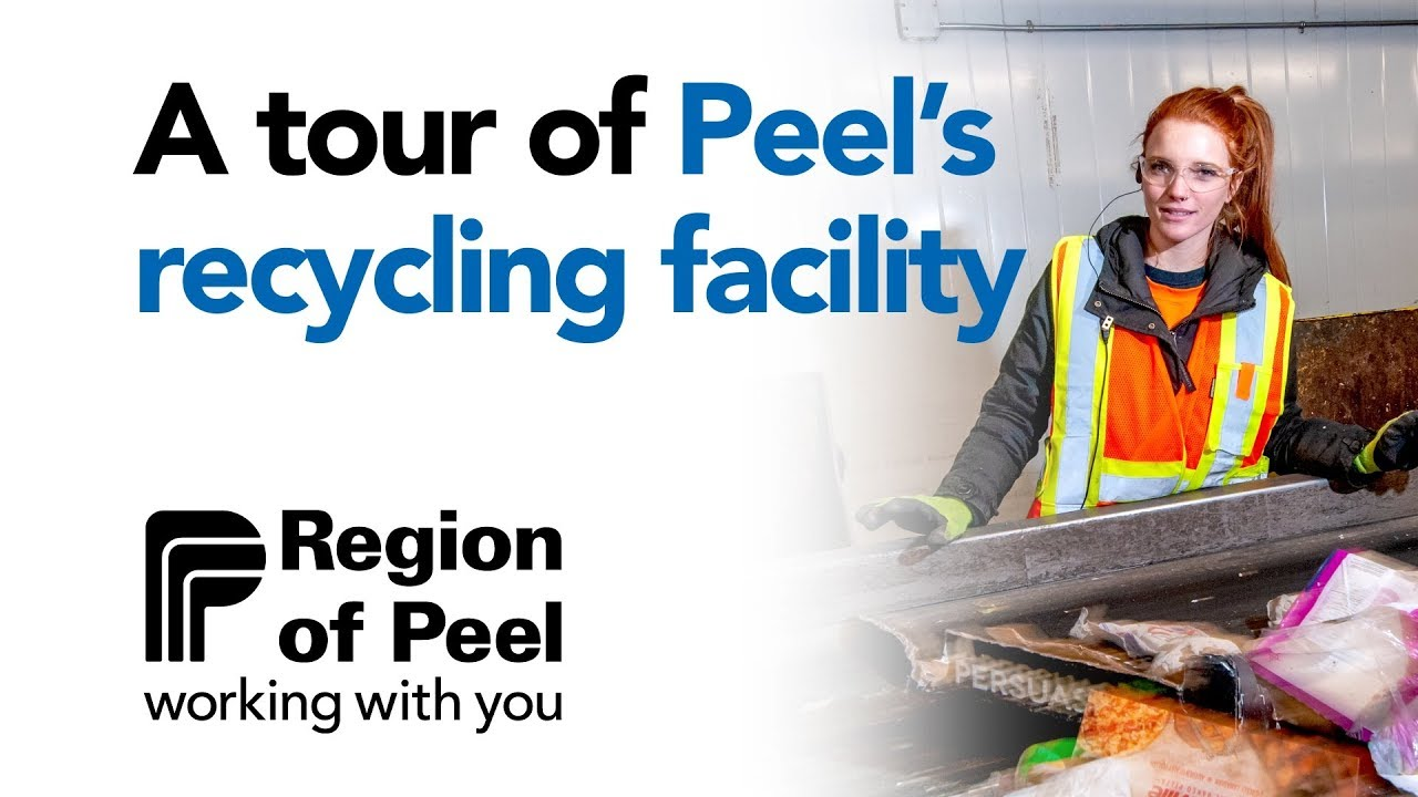A Tour Of Peel S Recycling Facility Youtube