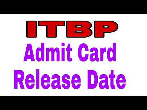 ITBP Tradesman 2017 ADMIT CARD DATE RELEASED