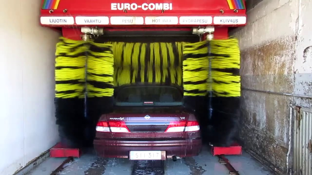 Kleindienst Euro Combi Car Wash Tiger Wash Brushes Youtube