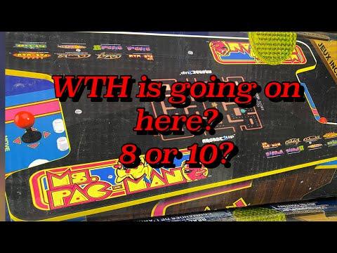 Arcade 1up Confusion Ms. Pac-Man Table Top Head to Head from Kio ÐÎÊKÎÑ