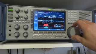 icom ic r9500 contest on 20 m