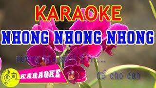Nhong Nhong Nhong Karaoke || Beat Chuẩn - Karaoke Nhạc Thiếu Nhi