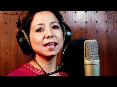 Tune o rangeele kaisa jadu kiya cover by komal rajbhandari(film: kudrat)