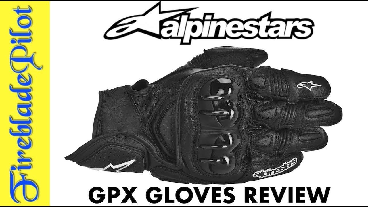 Alpinestars GPX Gloves Review