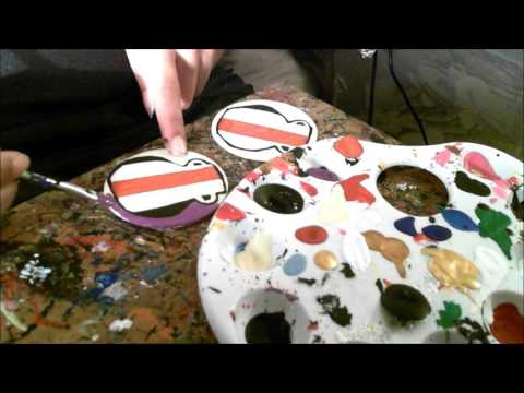 Creating Mudcloth Vase Earrings