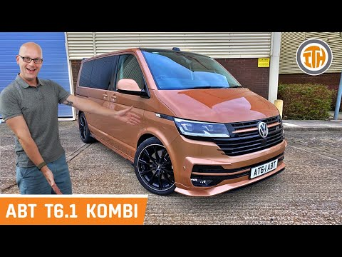 WORLD EXCLUSIVE First Review - ABT VW T6.1 Transporter Kombi!