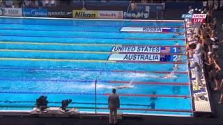 Женская сборная России по плаванию выиграла бронзу ЧМ в комбинированной эстафете 4х100 м