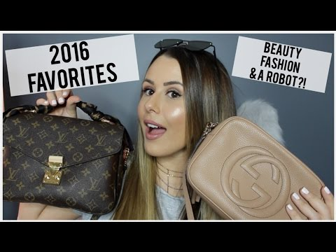 2016 FAVORITES - BEST OF BEAUTY/FASHION/LIFESTYLE 2016!