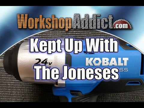 """Kobalt 24 Volt 1/2"""" Drive Cordless Impact Wrench Review"""