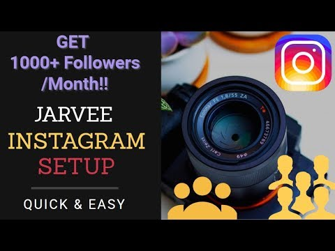 How To Set Up Jarvee for Instagram - Automation Bot Jarvee