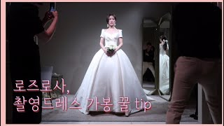 (vlog#17)  꿀tip. 로즈로사 촬영드레스 가봉…