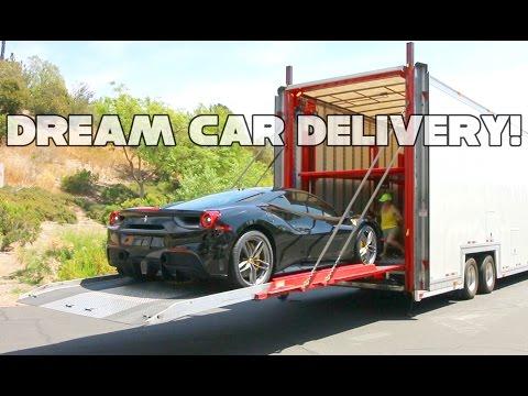 Ferrari 488GTB and classic VW Dream Car Delivery!