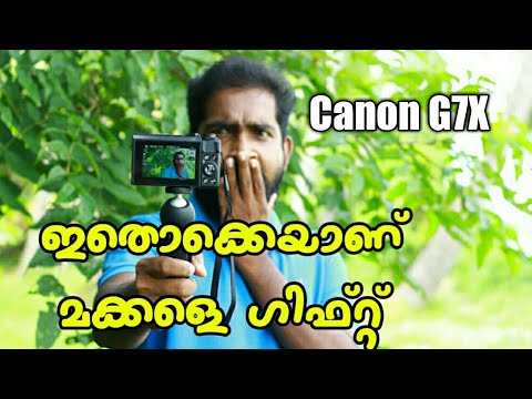 Canon G7X Gift From Subscriber | Canon G7X Review | Best Vloging Camera | Canon G7X Malayalam