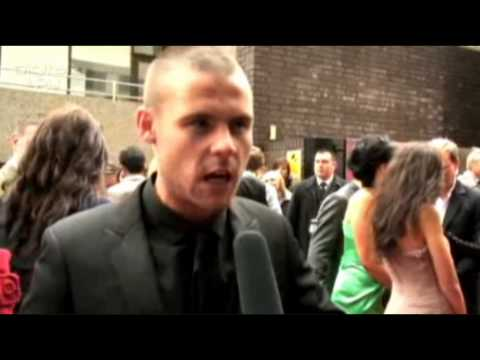 Danny Miller on Aaron & Jackson | British Soap Awards Interview