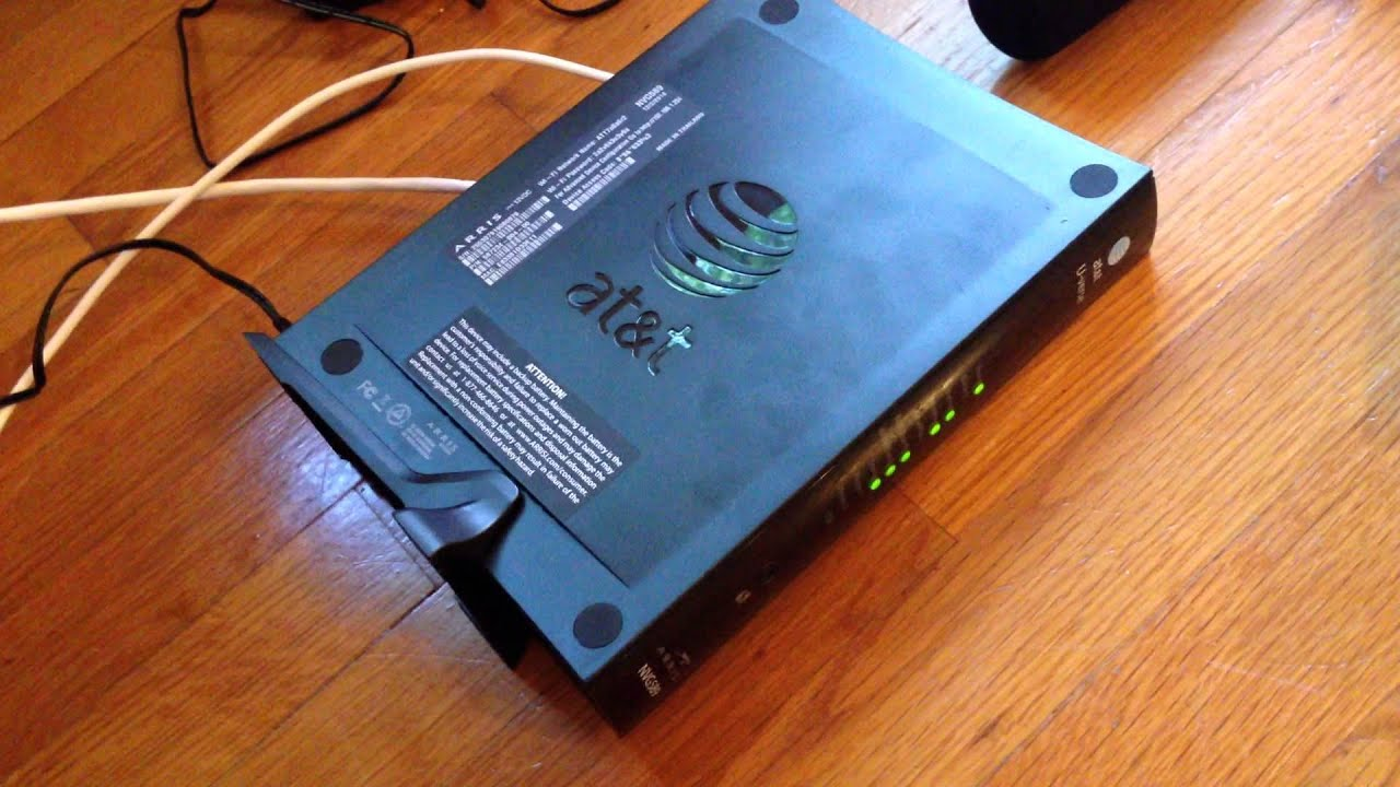 how to get into arris router