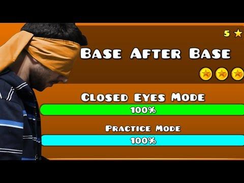 Geometry Dash - Level 5 Base After Base Closed Eyes