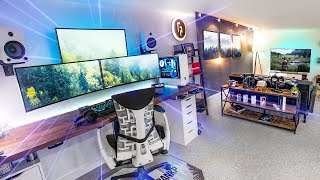 My INSANE 2019 Gaming Setup / Studio Tour!