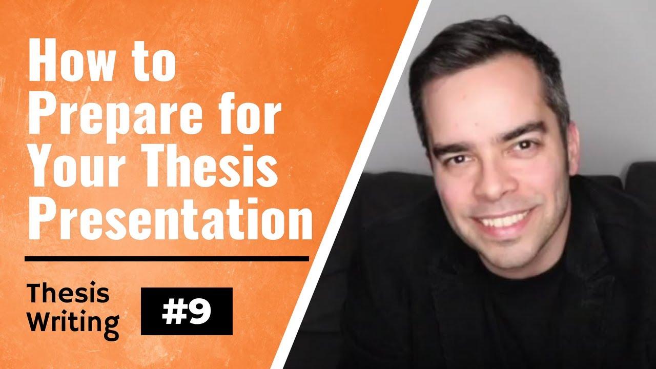 Download Thesis/Dissertation Tips #9: Colloquium / Oral Defense Preparation