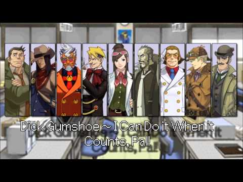 Ace Attorney: All Detective Themes 2015 (Reupload)