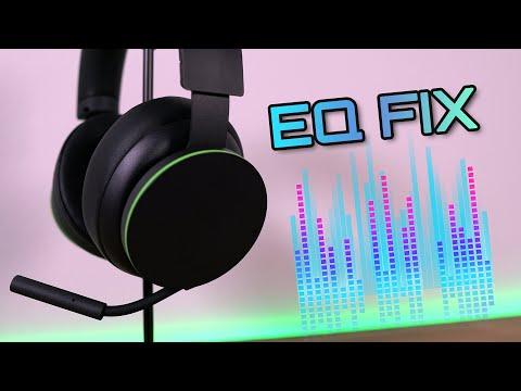 Оптимальная настройка эквалайзера на консоли для беспроводной гарнитуры Xbox