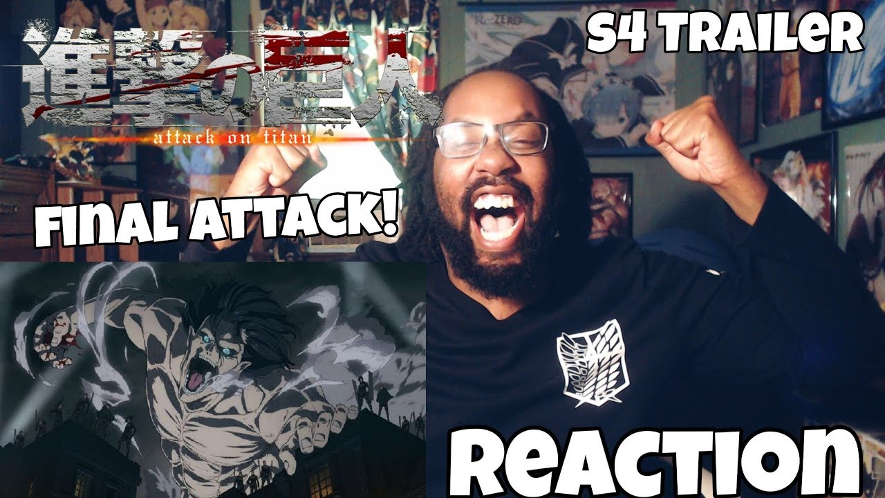 THE FINAL ATTACK! ATTACK ON TITAN FINAL SEASON TRAILER REACTION