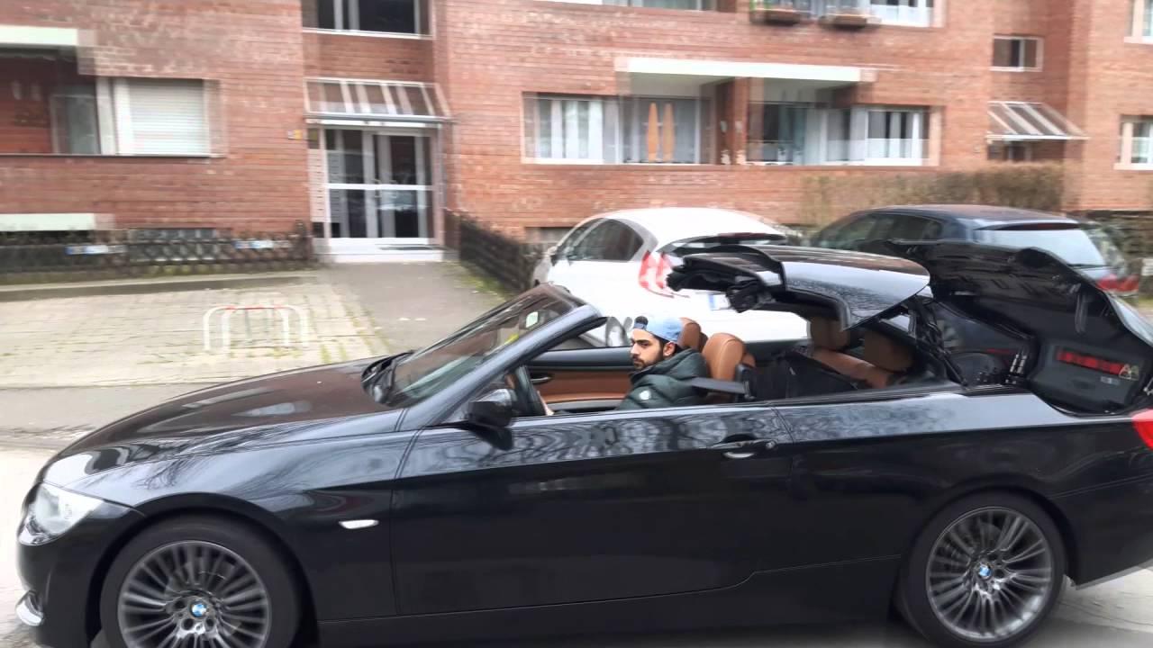Bmw 3er Cabrio E93 öffnet Und Schließt Das Dach Bis 30 Kmh Bimmer