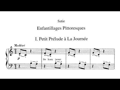 Erik Satie ~1913~ Enfantillages Pittoresques