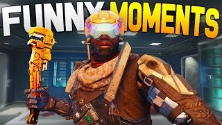 Black Ops 3 Funny Moments - Bob the Builder, Combat Axe Killcam, Split Screen