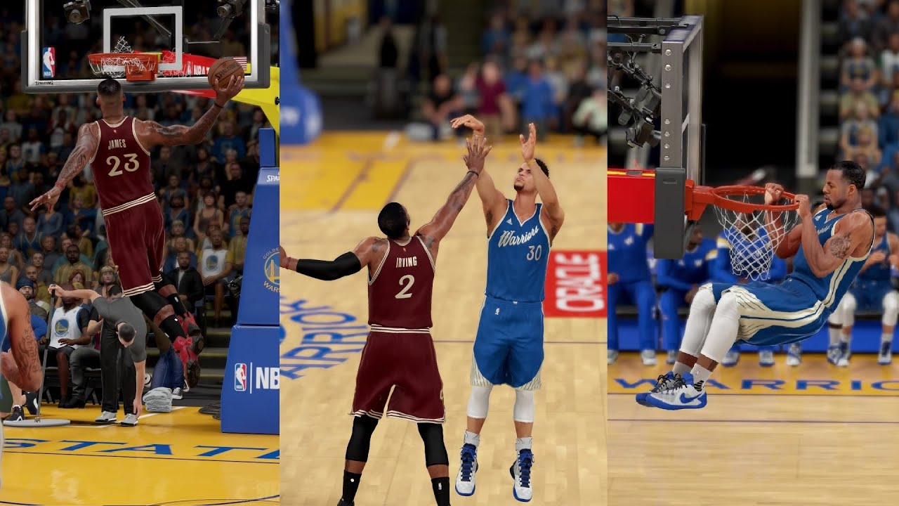 NBA 2K16 - Cavs vs Warriors Christmas Day! - YouTube