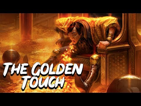 The Golden Touch: The Story of King Midas - Greek Mythology Stories - See U in History