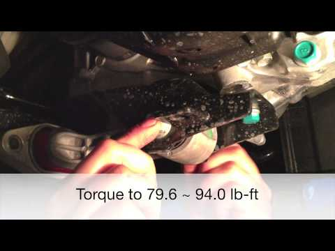 2013 Kia Rio 5 performance lower motor mount install