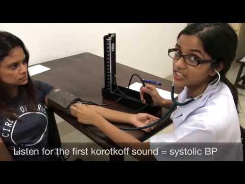 blood pressure examination CUCMS CST group 8