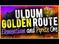Elementium And Pyrite Ore Golden Route Great Yields Uldum 10-15minute Lap WoW Gold Guide