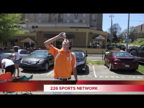 "226 Sports Network How to Open a Beer Can With Your Head By ""Wild Man Hanes"" AKA Big Cat"
