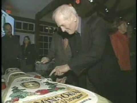Paul Newman celebrating newman