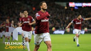 West Ham vs. Crystal Palace: Javier Chicharito Hernández marca de nuevo   Telemundo Deportes