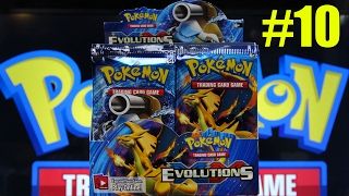 xy evolutions 10 pokemon booster box opening all 36 booster packs