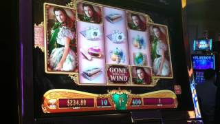 Gone with the Wind Slot Bonus - Respin Bonus