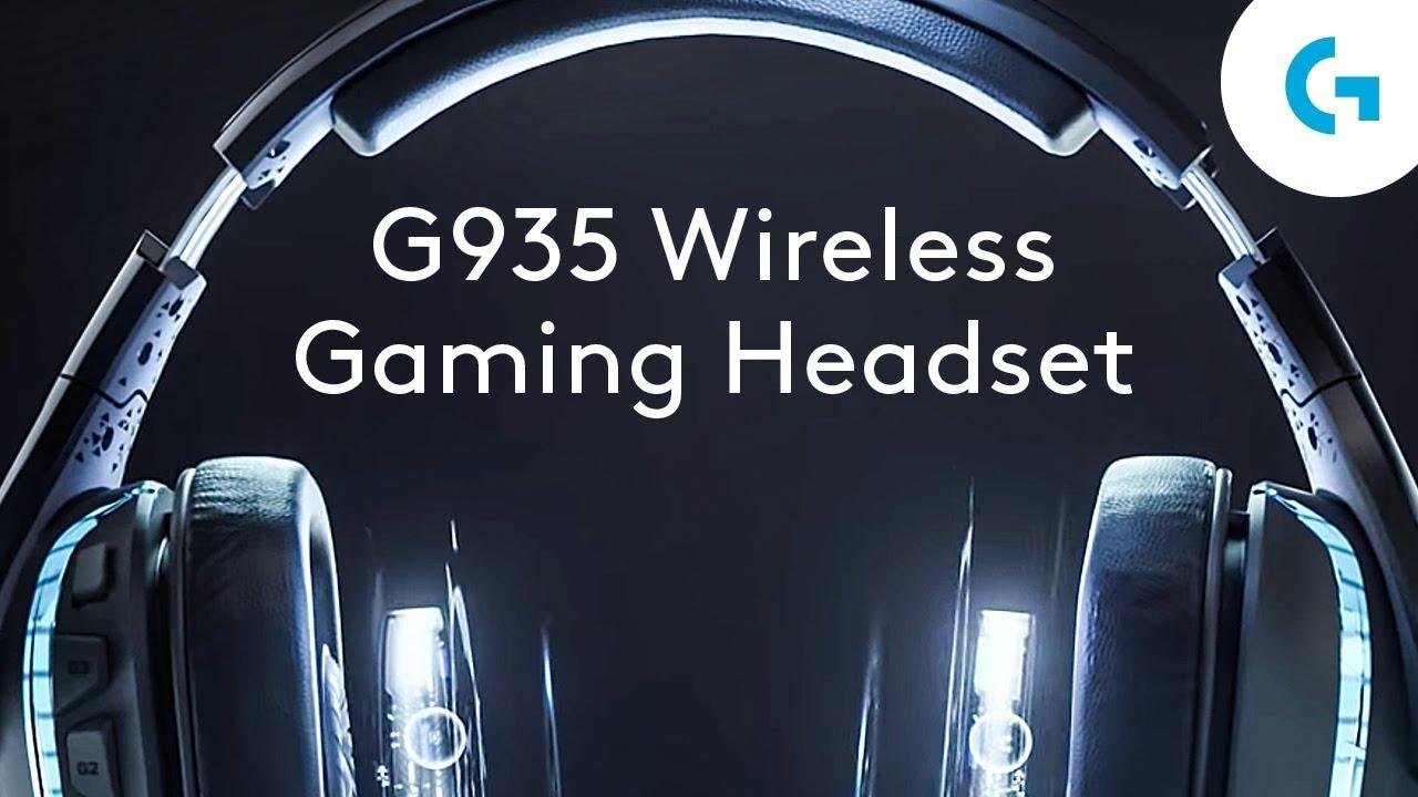 Logitech G935 Wireless 7 1 Surround Sound LIGHTSYNC Gaming