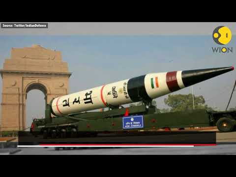 India successfully test-fires nuclear-capable Agni-V missile