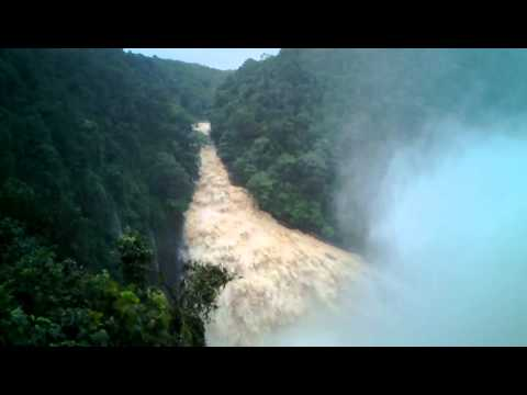 Unchalli Falls During Monsoon - Uttara Kannada Dist. - Karnataka - India