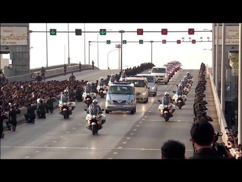 เคลื่อนพระศพ - พระราชพิธีทรงบำเพ็ญพระราชกุศล พระบาทสมเด็จพระปรมินทรมหาภูมิพลอดุลยเดช 14 ตุลาคม 2559